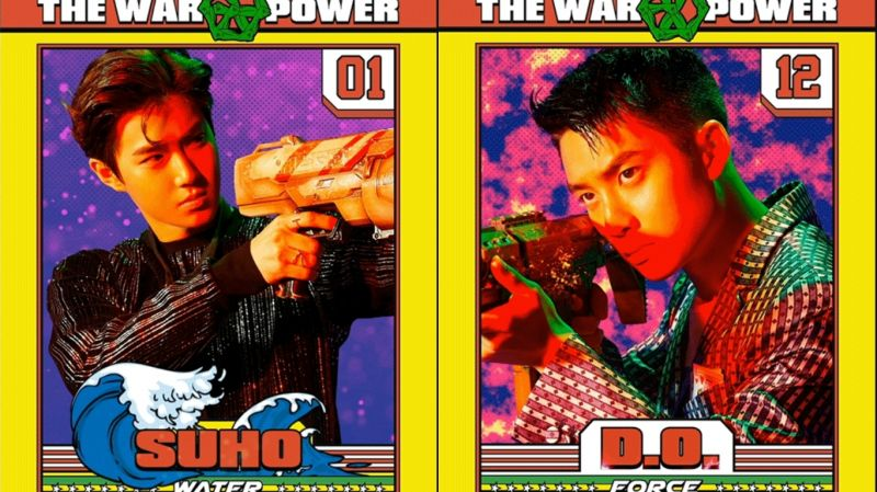 EXO正規四輯後續《THE WAR: The Power of Music》 SUHO、D.O.個人預告公開