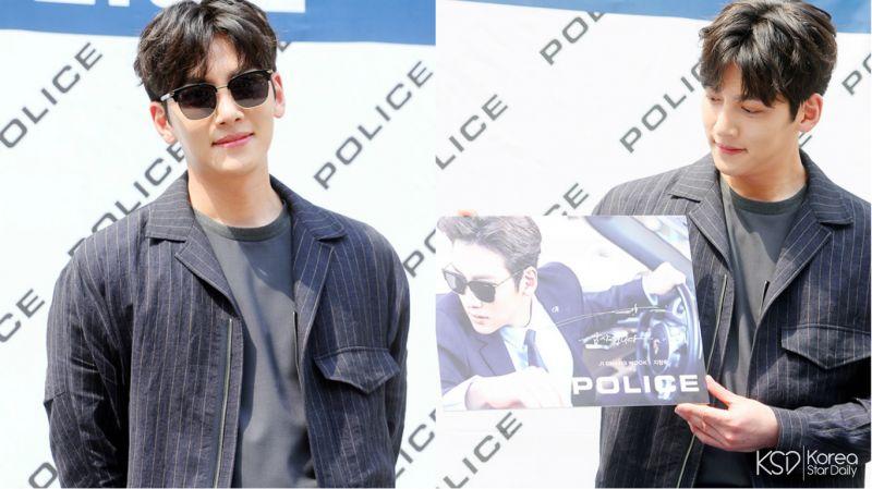 池昌旭出席品牌粉丝签名会活动!是阳光下的帅气美男啊!
