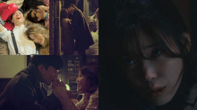 IU&張基龍演過兩次甜蜜的MV情侶,這次在《我的大叔》裡虐心了~