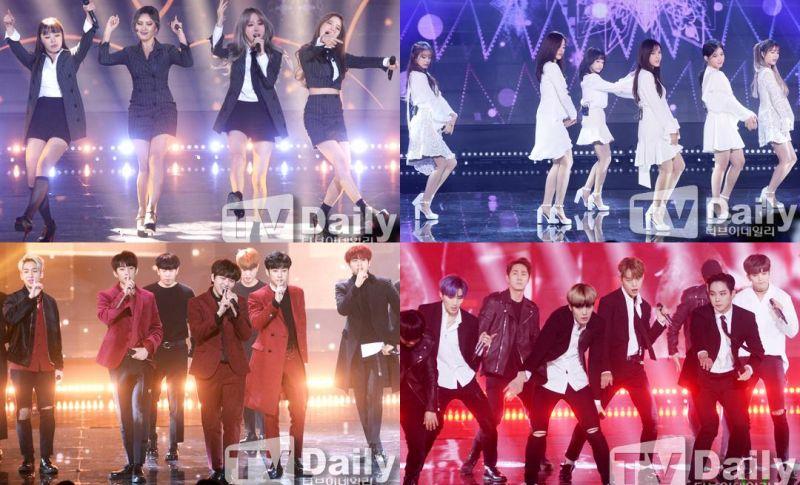 《The Show》直播:T-ara白裙清纯 v.s. MAMAMOO黑衣性感
