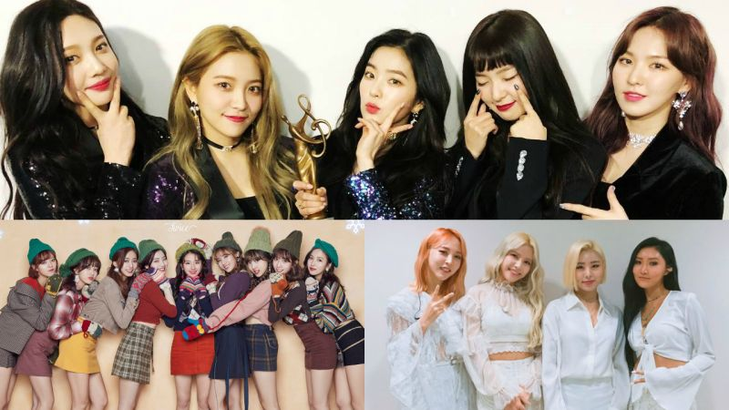 Red Velvet、TWICE 蟬聯 3 月女團評價冠亞軍 MAMAMOO 回歸攻佔季軍!