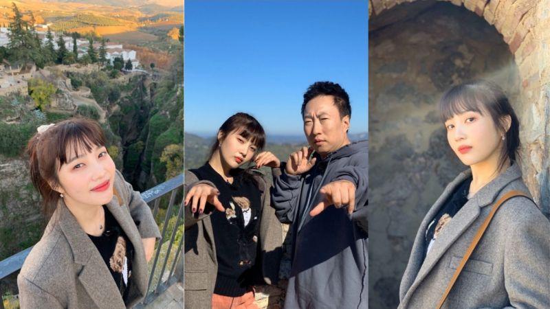 朴明洙在《穷游豪华团》成为Joy的「专属摄影师」摄影实力让大家惊呼:「怎么可以拍得这么好!」