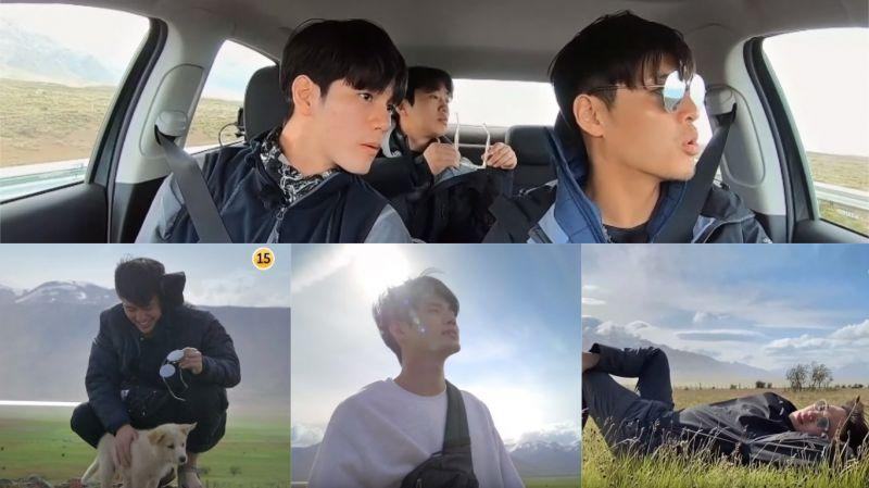 【有片】《Traveler2》預告:姜河那、安宰弘、邕聖祐徜徉於大自然中…看著美景頻頻讚嘆!