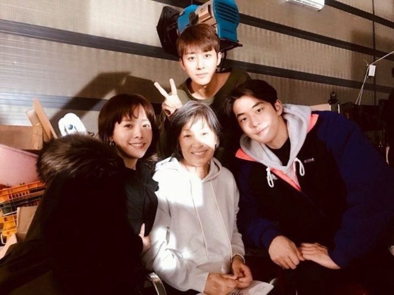 JTBC新劇《耀眼》拍攝現場!主演金惠子、韓志旼、南柱赫、孫浩俊齊聚一堂