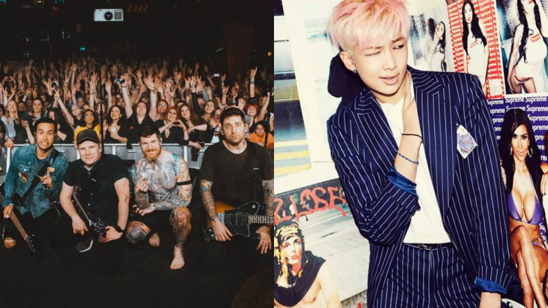 「所到之處都吸引一堆人」防彈少年團的海外高人氣 如何促成 Fall Out Boy 與 RM 的帥氣合作?