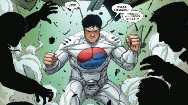 Marvel推出全新韩国人超级英雄「太极旗」!美国驻韩大使馆也来宣传~