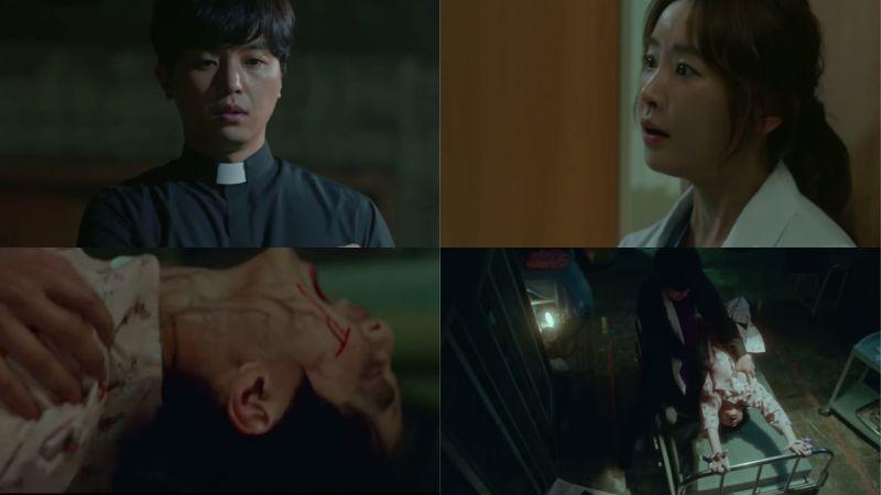 延宇振、鄭柔美主演OCN新劇《Priest》預告公開!醫院背景+驅魔題材真的非常刺激!