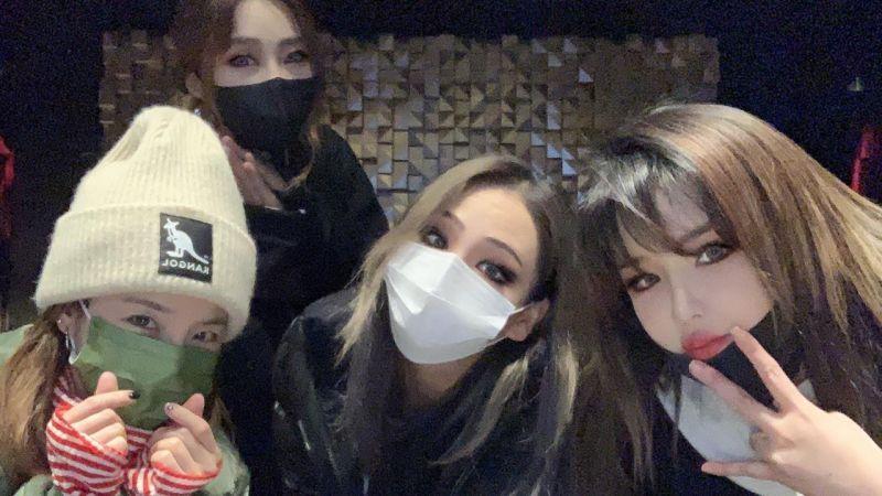 完全就是活久見啊!經典人氣女團 2NE1 四人合體為忙內慶生~