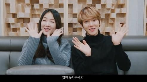EXO伯贤&SISTAR昭宥合作曲《下雨了》幕后花絮视频来啦!