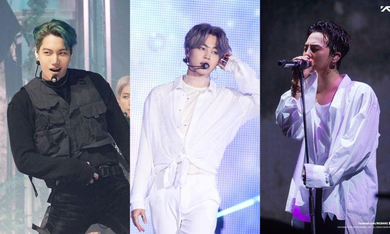 全球粉絲票選「最會跳舞的男愛豆」TOP 5:Jimin&KAI&GD均上榜