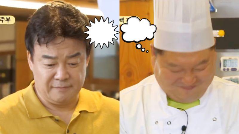 《姜食堂2》制得了姜鎬童的只有白種元吧,見姜鎬童被訓真痛快XD