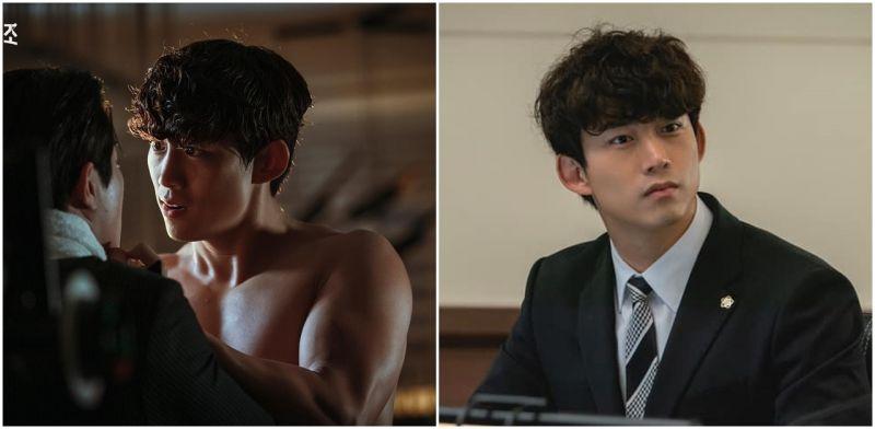 2PM的粉絲們看到沒?《黑道律師文森佐》玉澤演不忘在劇中跳起自己的招牌動作〜「Heartbeat」是青春啊〜