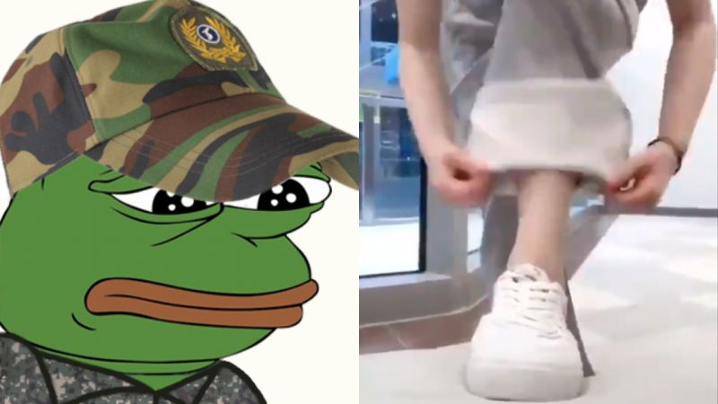 據說是「外國超流行的褲子穿法」但韓國男人一看直搖頭:「在軍隊裡已經穿夠了!」