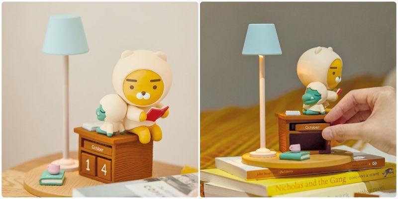 這個超萌!KAKAO推出RYAN+CON日曆型小夜燈