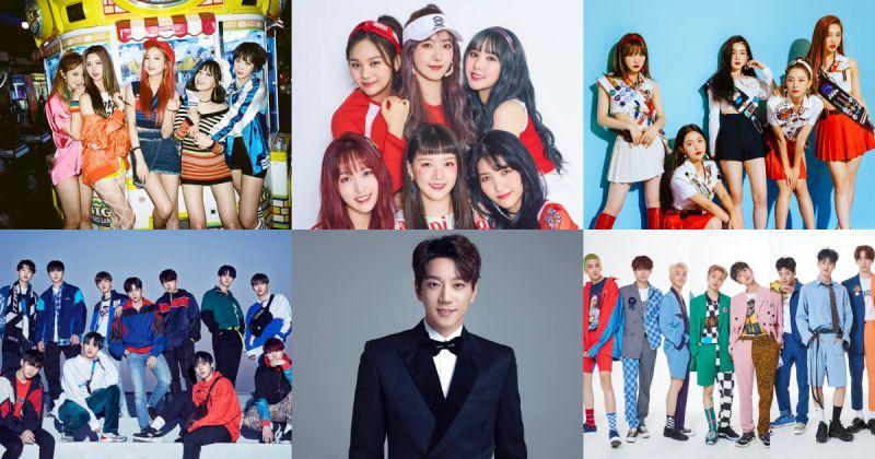 EXID、Wanna One、Red Velvet、GFRIEND⋯⋯超過十組歌手接力登上《2018 濟州韓流音樂祭》!