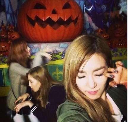 少時分隊TaeTiSeo公開萬聖節搞怪照