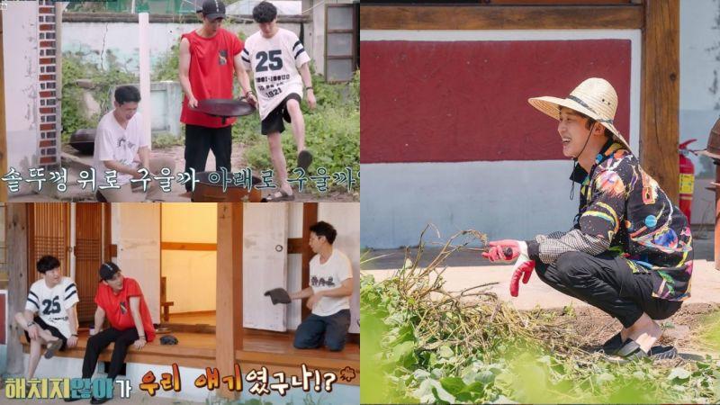 综艺《不会伤害你》上周首播!「傻瓜三兄弟」超大反差获得观众喜爱,「河博士」尹钟焄公开花絮照!