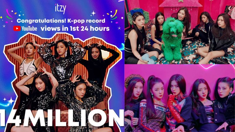 ITZY出道曲MV创纪录!朴轸永发文祝贺并表示:「这是公司前辈、KPOP前辈铺好的路,要心怀感激!」