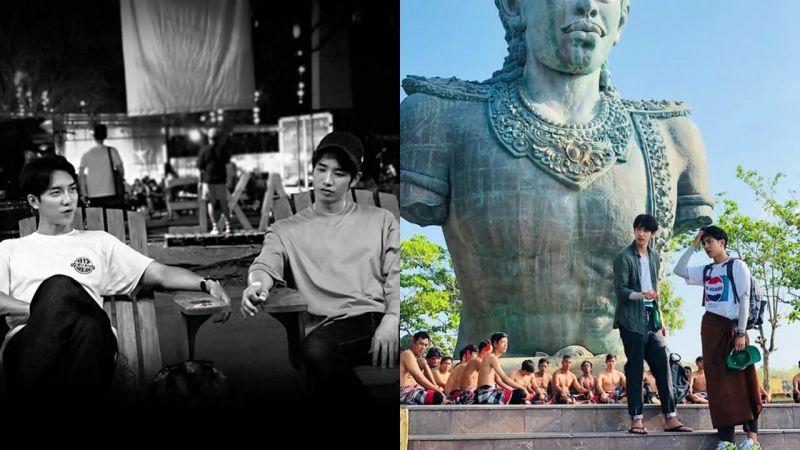 李升基、刘以豪IG互相更新对方的旅游合照:让大家感受一下我们的「豪基情」