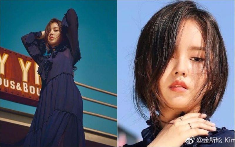 金所炫公開新畫報幕後照  從少女蛻變淑女