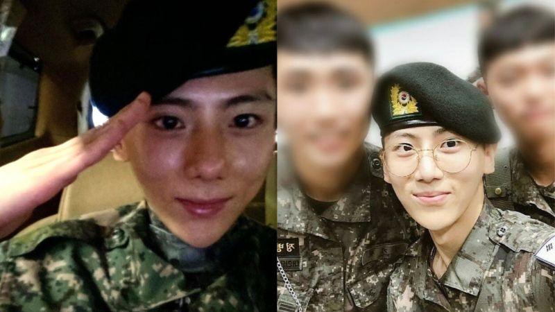 張賢勝正式退伍!在IG更新了照片,讓網友表示:「去完軍隊回來還這麼有活力的人...還是第一次見」