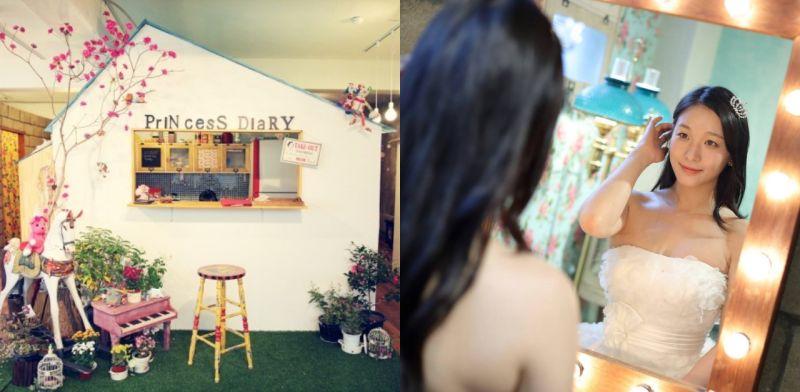 和闺蜜一齐拍婚纱照不再是梦,来韩国的婚纱咖啡厅吧!