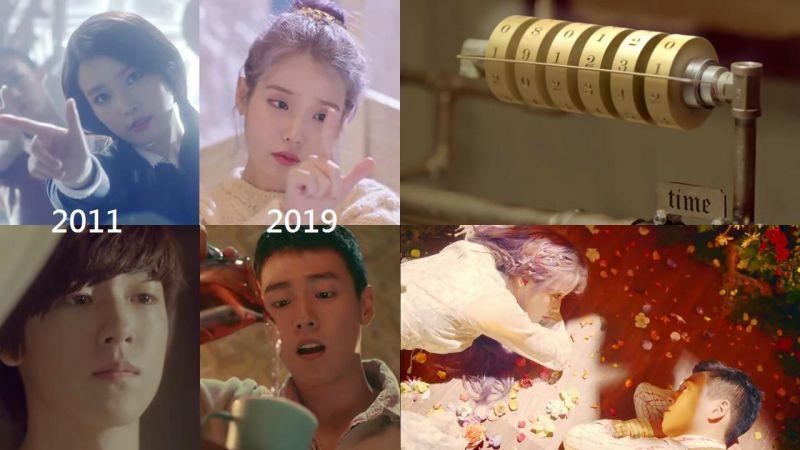 IU和新歌男主李玹雨的「八年之约」MV 的隐藏彩蛋不只一个?