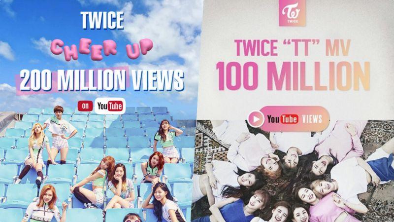 TWICE不得了!繼《TT》之後這首歌YouTube點擊率也破2億了