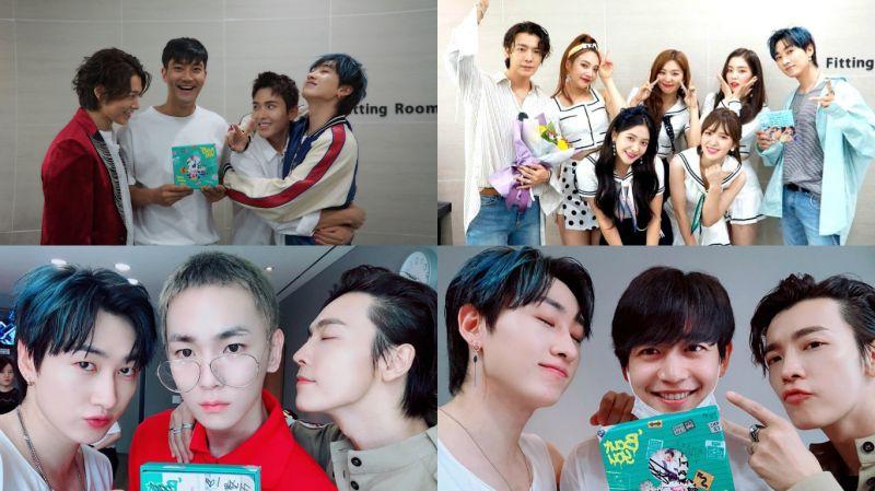 SJ D&E和师妹Red Velvet一起打歌!父母、始源、厉旭、Key和珉豪也来应援~