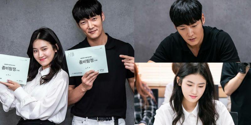 崔振赫x朴柱炫主演搞笑喜劇《喪屍偵探》讀劇現場公開,黃寶羅、安世河等演員也加入演出