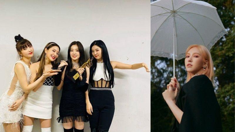 Red Velvet颁奖典礼留位置给Wendy!队长Irene:「不能和我们一起站在这,觉得有点心痛」