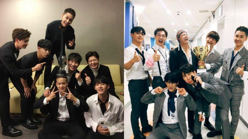 BTOB 氣勢大開 今日蟬聯《M! Countdown》雙週冠軍!