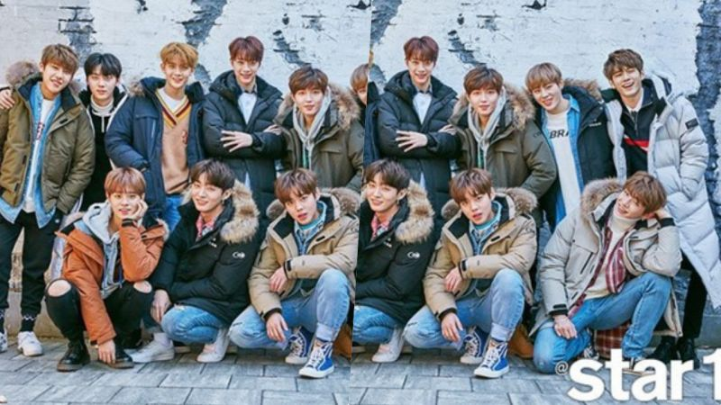 最爱完整体!Wanna One登上《@STAR1》封面