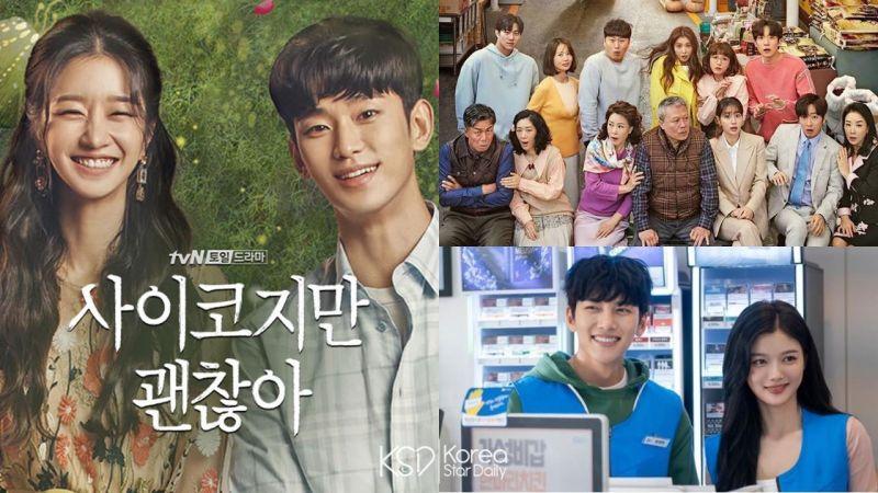 《虽然是精神病但没关系》在韩话题性连冠《结过一次了》《便利店新星》紧追在后!