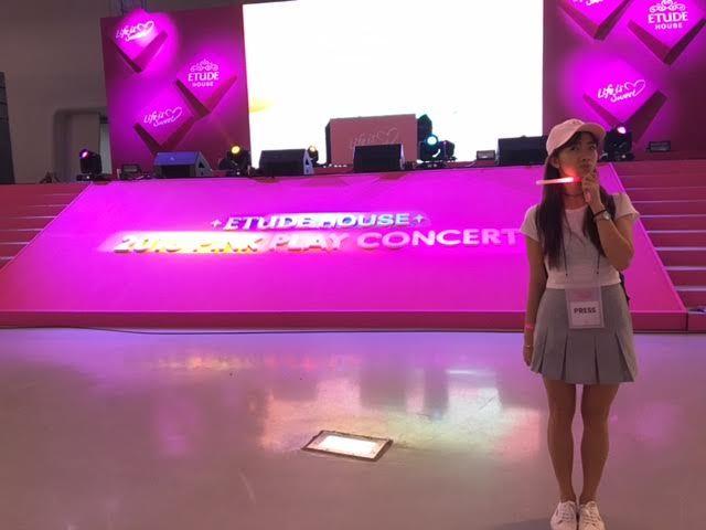 【後記】ETUDE HOUSE一年一度PinkPlayConcert!我們來了~♥