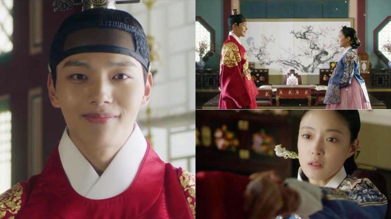 tvN新劇《成為王的男人》最新預告:呂珍九牽起李世榮的手,畫風瞬間唯美浪漫~