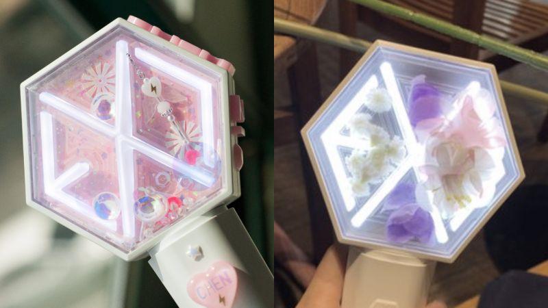 EXO-L好有才!将「爱丽棒」装饰出无限可能,一个比一个仙!
