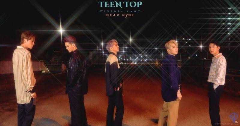 TEEN TOP 长大了!最新概念照大展成熟魅力