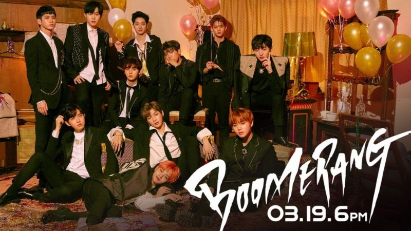 Wanna One新专辑主打歌确定《BOOMERANG》 3月19日单独回归SHOW