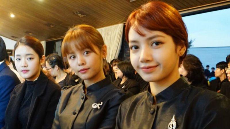 「泰國女愛豆line」BLACKPINK Lisa、CLC Sorn、(G)I-DLE Minnie去年合照再次引發關注!