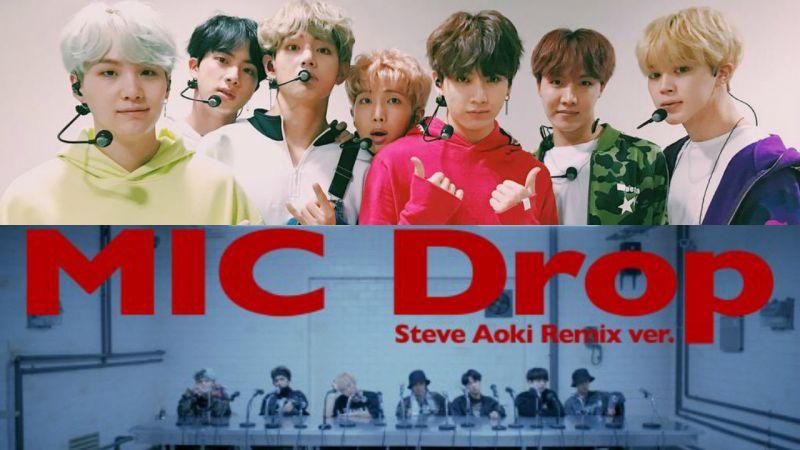 防弹少年团〈MIC Drop〉MV 点阅数破两千万 再破 iTunes 排行榜纪录!
