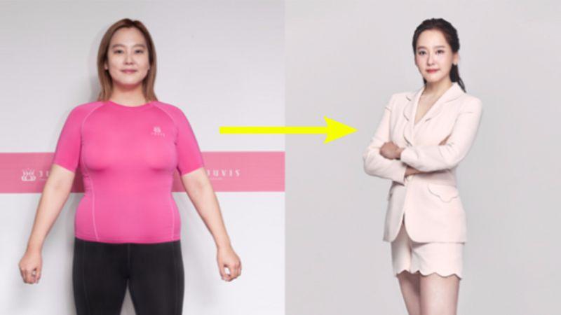 天上智喜DANA为克服抑郁和失眠,成功瘦身20kg!