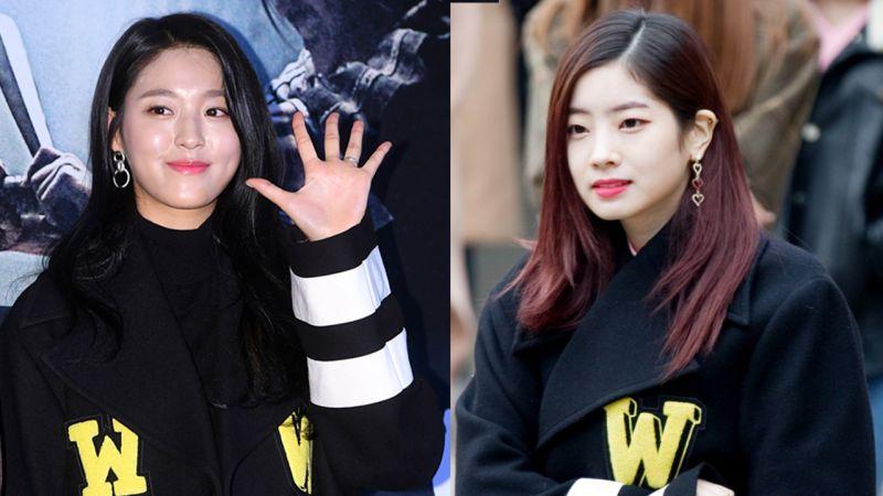 AOA雪炫VS TWICE多賢:同款黑色長款大衣