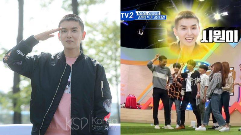 Super Junior再加一位回歸~!成員厲旭將於7月10日退伍一起活動