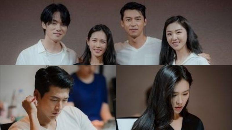 玄彬、孫藝珍等主演tvN新劇《愛的迫降》公開劇本閱讀現場!將接檔《請融化我》於11月首播