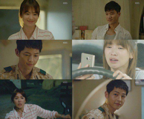 《太陽的後裔》第四集接吻  第八集告白  速度之快打破以往韓劇法則