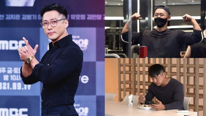 南宮珉為新劇《黑色太陽》增肌14kg,運動太多竟然做噩夢!重回《我獨自生活》今晚就要開播啦~
